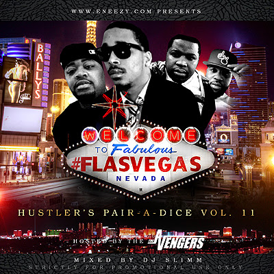 HUSTLERS PAIR OF DICE VOL 11 HOSTED BY KING VAY AND ENYSE MIXED BY DJSLIMM